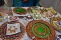 Seen designer dias on display @ Kitchen India Expo at Hitex, Madhapur Photos