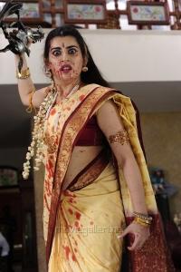 Anandini Movie Actress Archana Veda Saree Photos