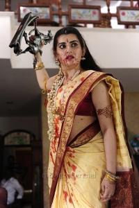Anandini Movie Actress Archana Saree Photos
