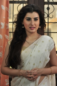 Actress Archana Cute Saree Photos in Anandini Movie
