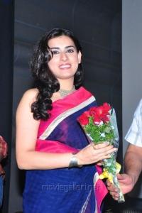 Archana Veda in Saree @ Kullu Manali Audio Release