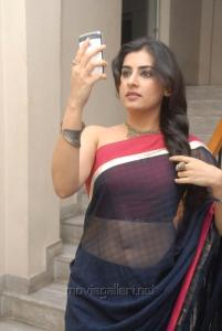 Archana Veda Hot Transparent Saree Stills