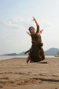 Actress Archana Veda Sastry Photos in Grayish Blue Cotton Saree