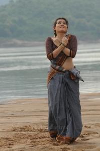 Telugu Actress Archana Veda Sastry Photos in Cotton Saree