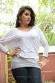 Archana aka Veda Sastry Hot Stills in White Top Dress