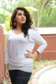 Archana Veda Latest Hot Stills in White Top Dress
