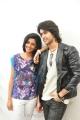 Anisha Ambrose, Abhijeet Duddala  at Arere Movie Press Meet Stills