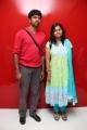 Madhan Karky with his wife Nandhini @ Arima Nambi Premiere Show Photos
