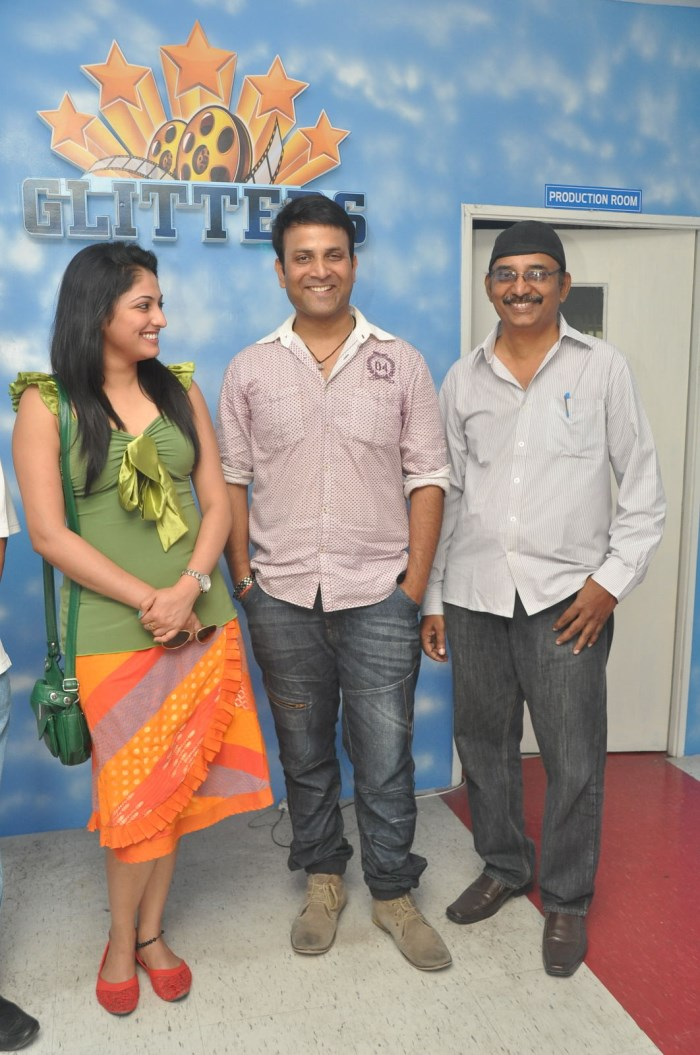 Actress Haripriya visits Glitters Film Academy, Hyderabad