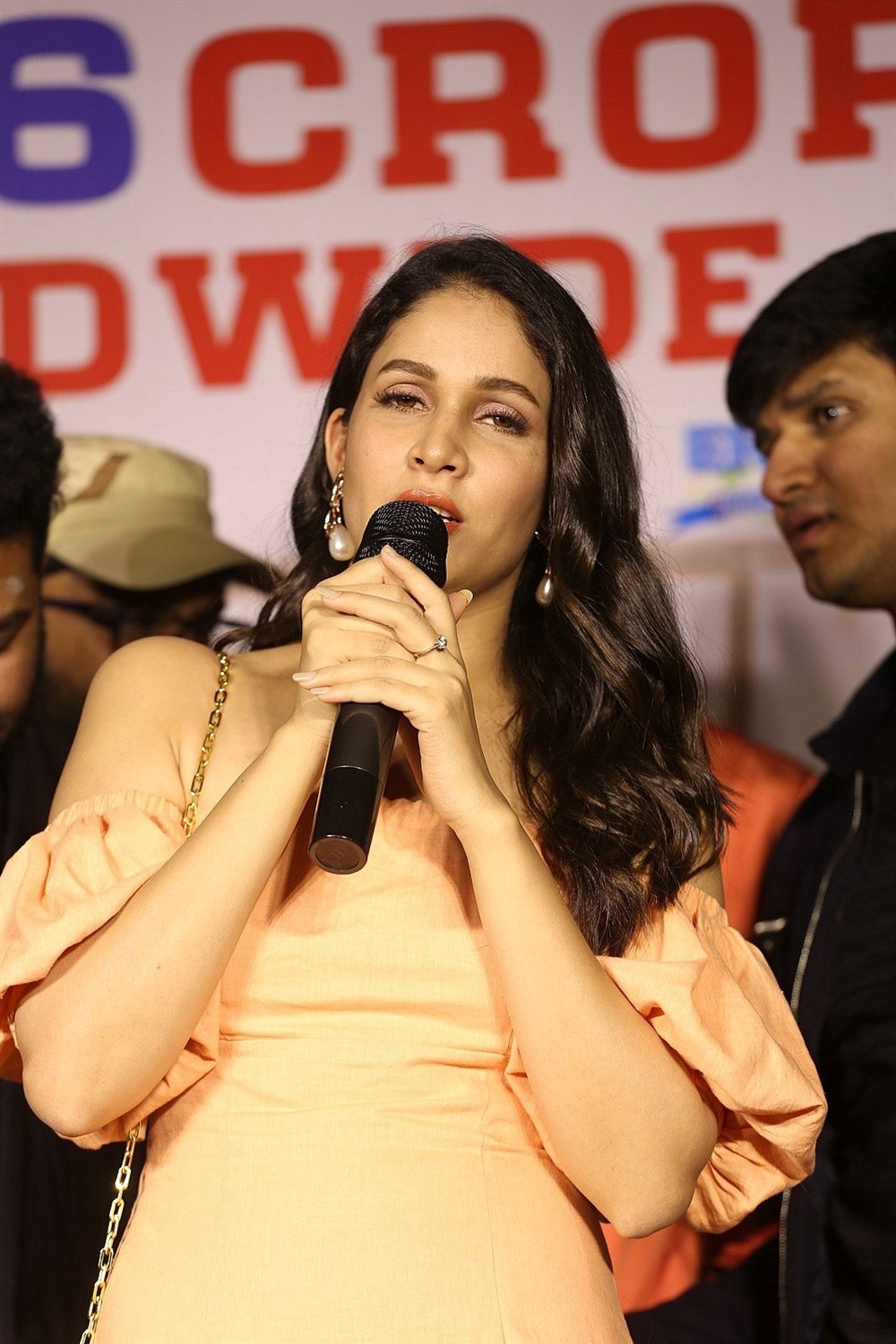 Lavanya Tripathi @ Arjun Suravaram Movie Success Meet Photos