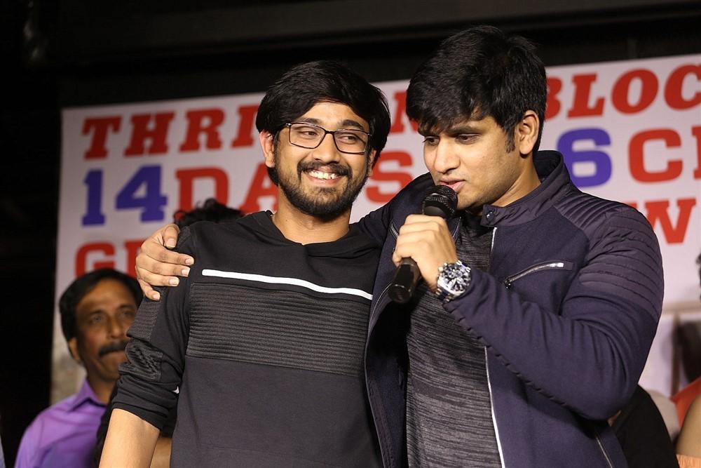 Nikhil Siddharth @ Arjun Suravaram Movie Success Meet Photos