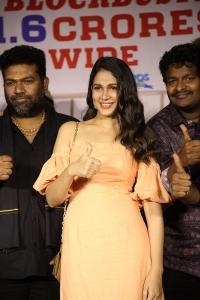 Lavanya Tripathi @ Arjun Suravaram Movie Success Meet Photos
