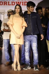 Lavanya Tripathi, Nikhil Siddharth @ Arjun Suravaram Movie Success Meet Photos