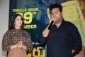 Lavanya Tripathi, TN Santhosh  @ Arjun Suravaram Movie Trailer Launch Stills