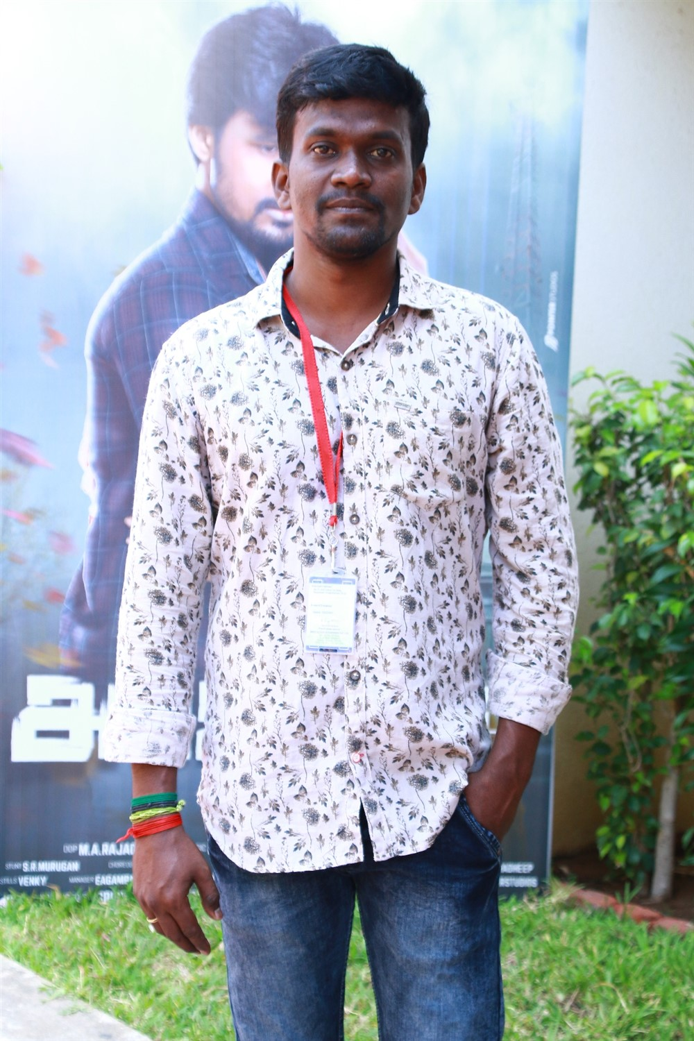 Director Sree Mani @ Arjuna Movie Pooja Stills