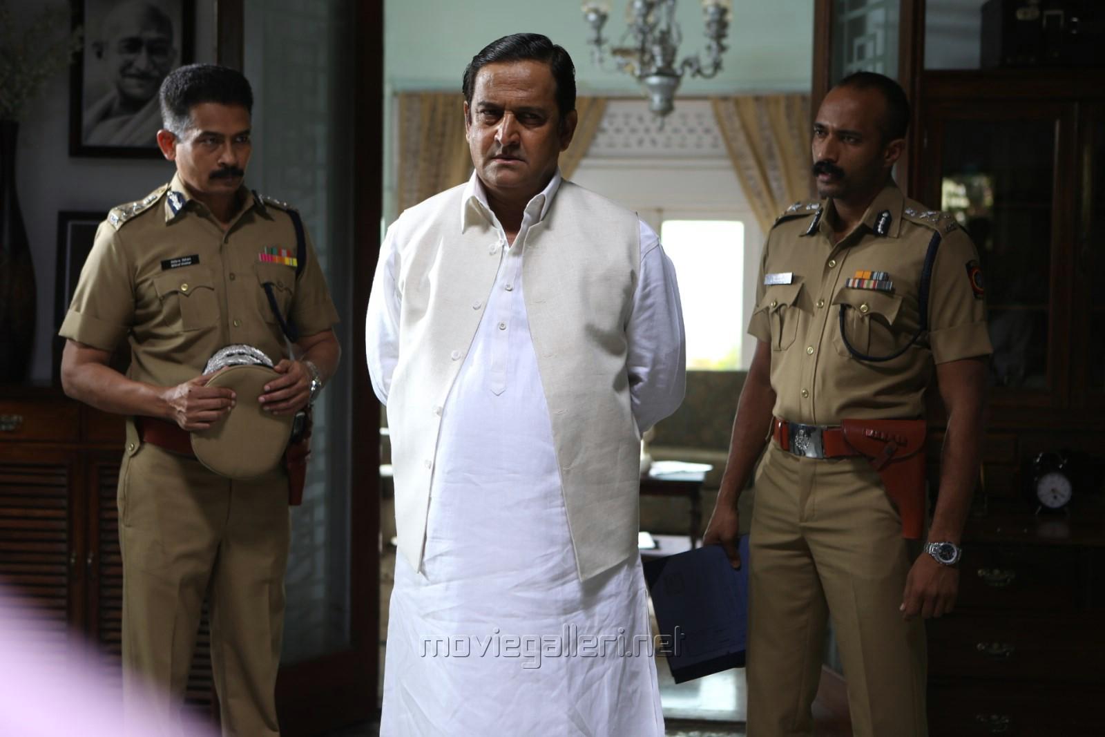 Mahesh Manjrekar in Arrambam Movie Stills