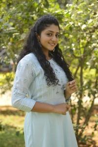 Malayalam Actress Arsha Baiju Photos @ Gangs of 18 Movie Press Meet