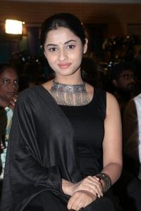 Actress Arthana Binu HD Photos @ Kadai Kutty Singam Success Meet