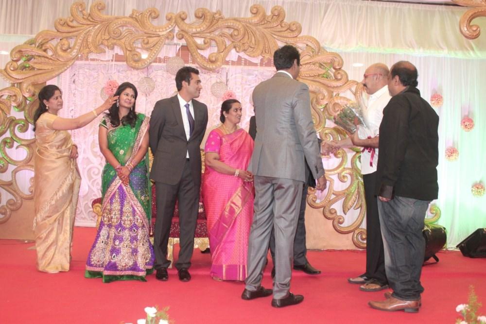 picture 724462 sathyaraj arun pandian daughter wedding
