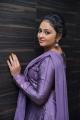Actress Arundathi Nair in Violet Churidar Photos
