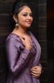 Telugu Actress Arundathi Nair in Violet Churidar Photos
