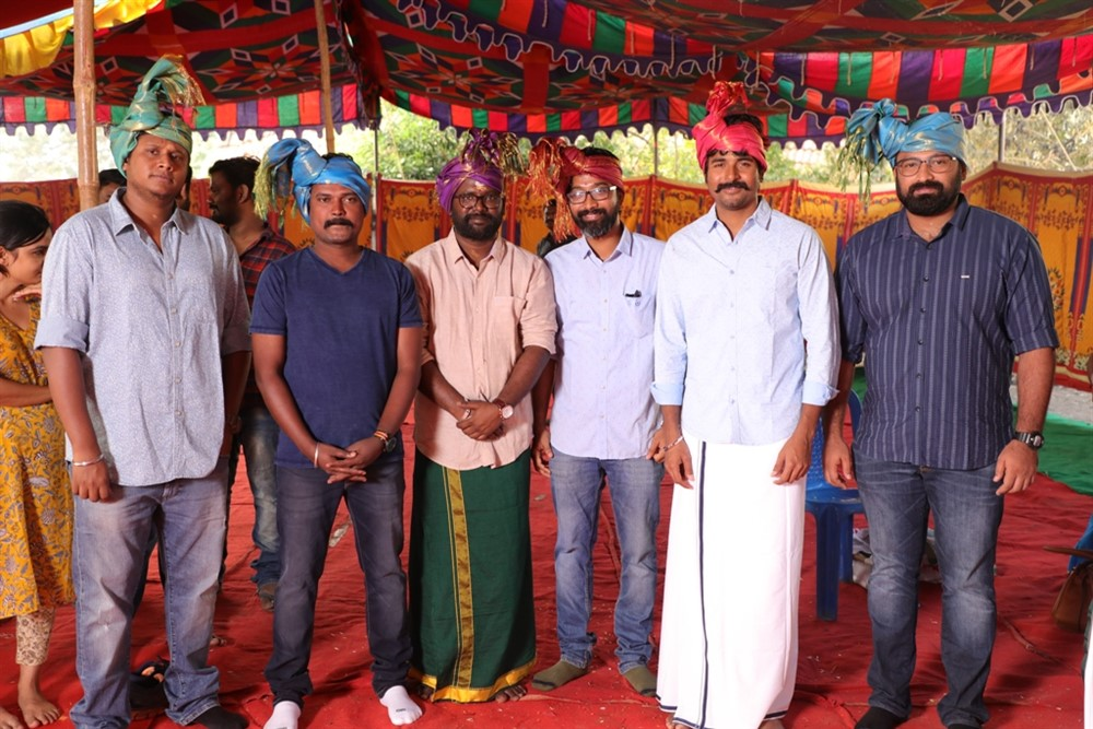 Arunraja Kamaraj Sivakarthikeyan Productions No 1 Movie Pooja Stills
