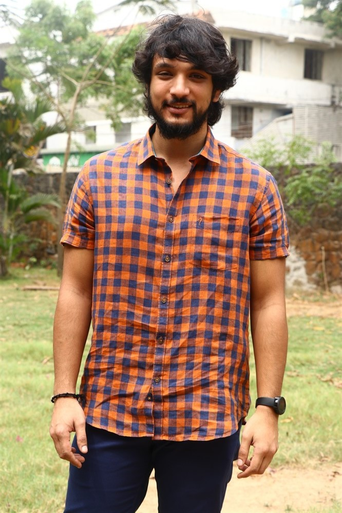 Gautham Karthik @ Arvind Swamy Santhosh P Jayakumar Movie Pooja Stills