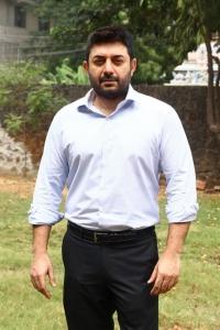 Actor Aravind Swamy Santhosh P Jayakumar Movie Pooja Stills