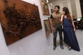 Arya & Lekha Washington attend Art Fest by Sakshi Art Gallery