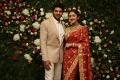 Arya Sayyeshaa Saigal Marriage Reception Photos HD