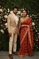 Arya Sayesha Marriage Reception Photos HD