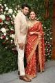 Arya Sayesha Wedding Reception Photos HD