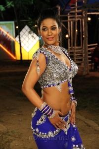 Actress Mumaith Khan Hot in Arya Surya Movie Stills