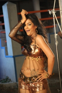 Actress Mumaith Khan in Arya Surya Movie Stills