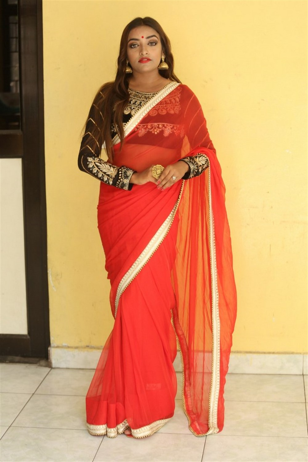 Actress Ashi Roy Pics @ KS 100 Movie Audio Release