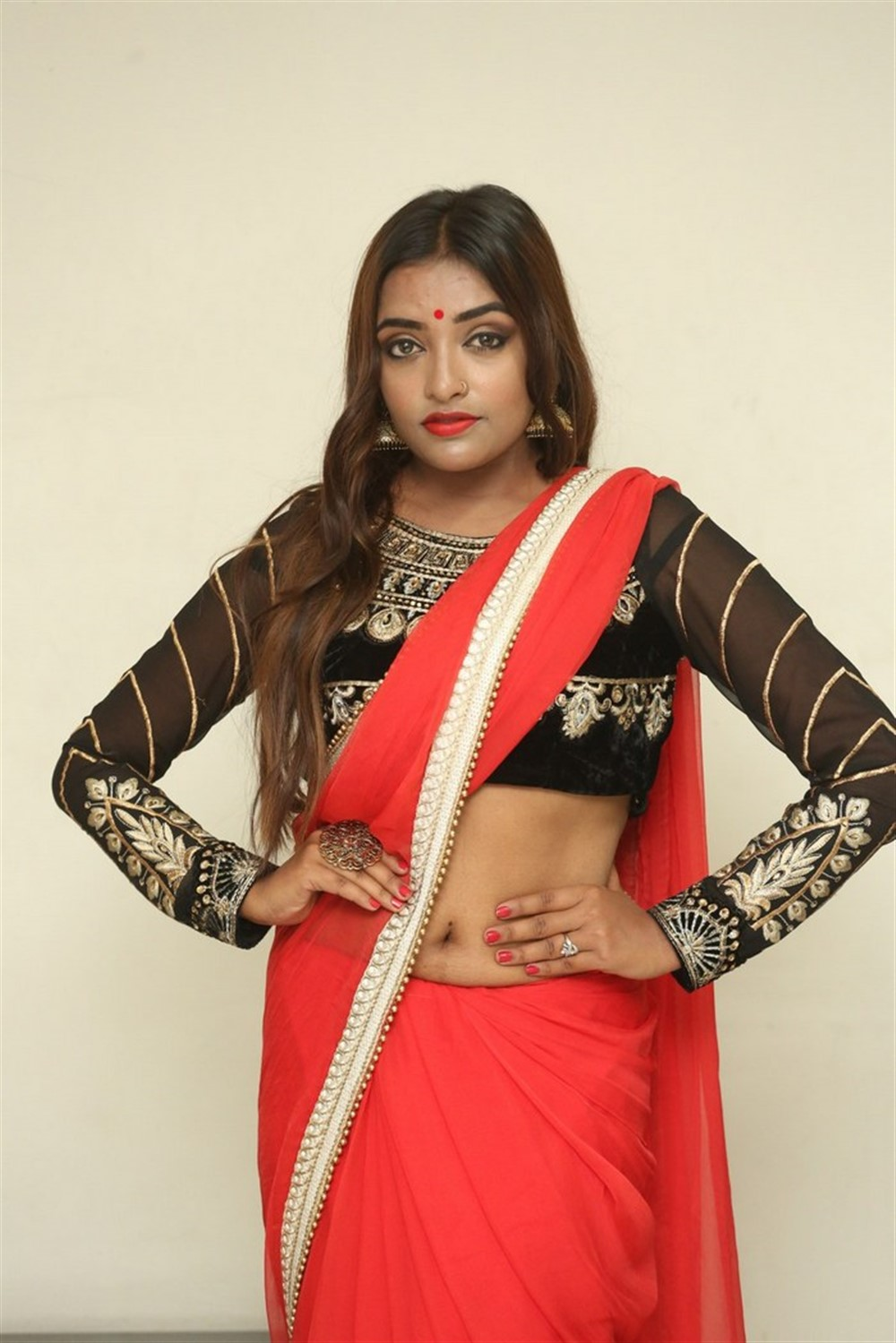 Actress Ashi Roy Pics @ KS 100 Movie Audio Launch