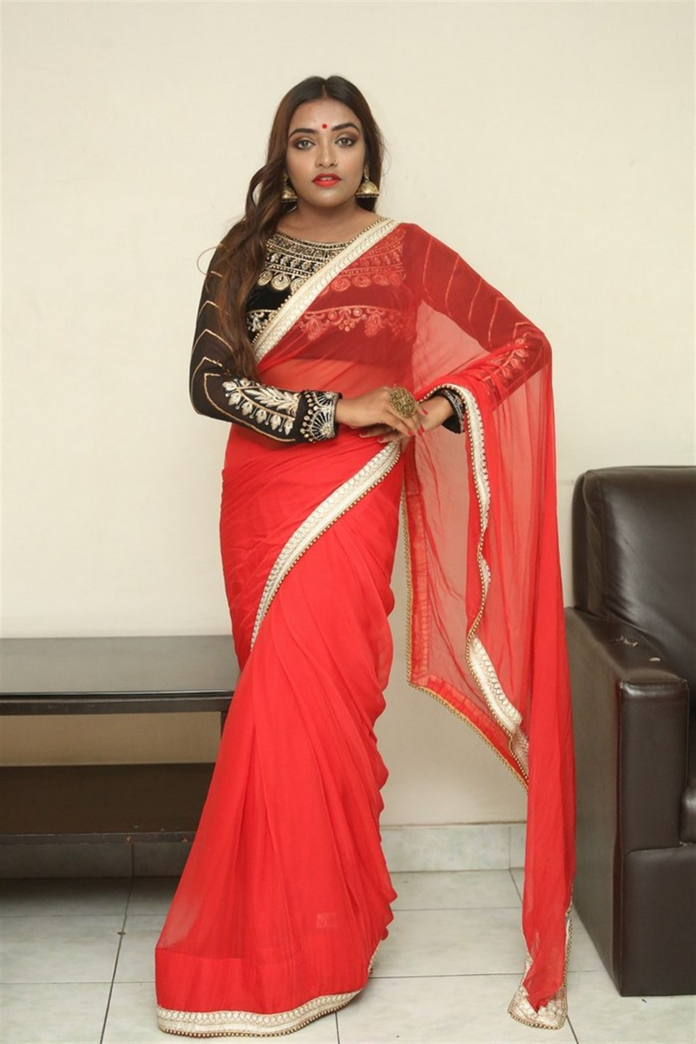 Actress Ashi Roy Pics @ KS 100 Movie Audio Release