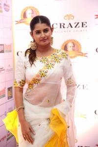 Tamil Actress Ashima Narwal in White Saree Pics