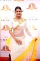 Actress Ashima Narwal White Saree Pics @ Dadasaheb Phalke Awards South 2019 Red Carpet