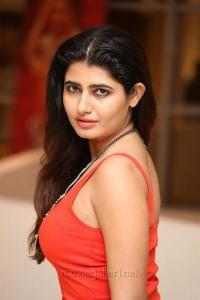 Actress Ashima Narwal in Red Dress Images