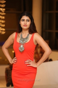 Actress Ashima Narwal Red Dress Images @ Killer Movie Pre Release