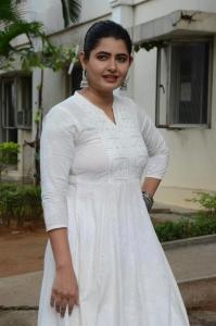 Sakala Gunabhi Rama Movie Heroine Ashima Narwal White Dress Photos