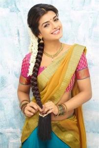 Actress Ashna Zaveri Saree Photo Shoot Images