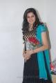 Ashrita Shetty in Black Crushed Salwar Kameez with short sleeves