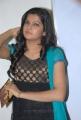 Actress Ashrita Shetty Cute Stills in Black Crushed Churidar Dress