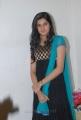 Actress Ashritha Shetty Cute Stills in Black Crushed Churidar Dress