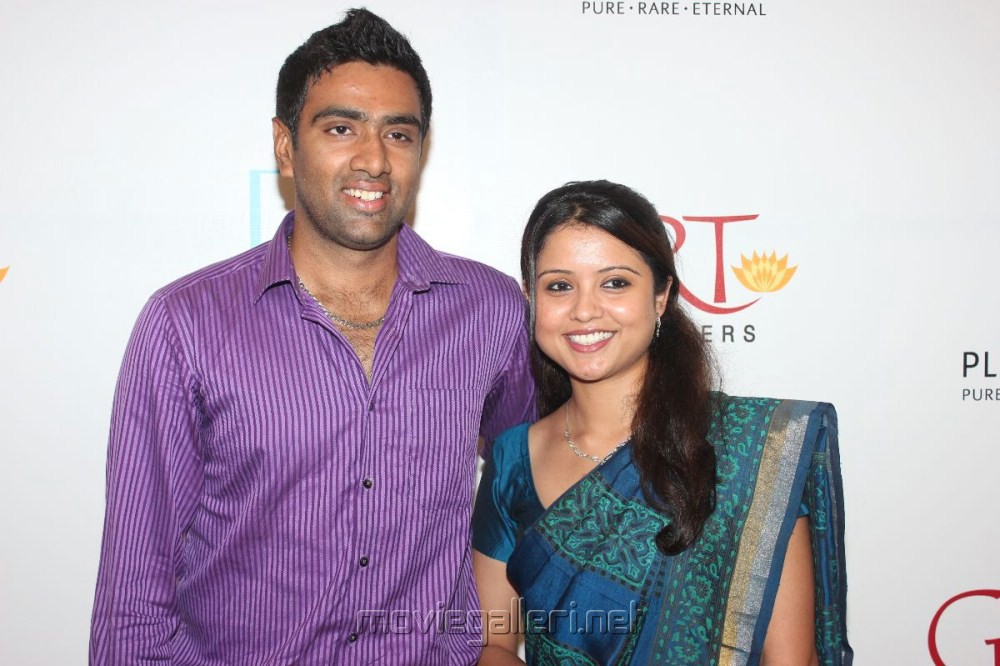 R Ashwin And His Wife Picture 282877 | Crick...