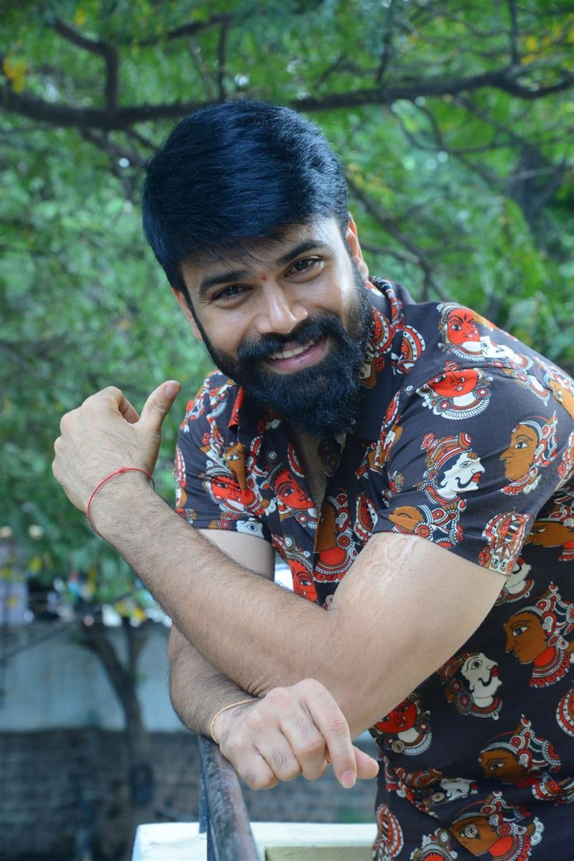 Hero Ashwin Babu Photos @ Raju Gari Gadhi 3 Movie Interview