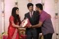 Shanthanu Bhagyaraj @ Ashwin Kakumanu Sonali Wedding Reception Photos