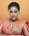 Actress Ashwini Chandrashekar Saree Photoshoot Stills